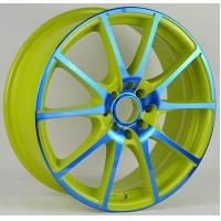 Wholesale Green / Red Painted 5 Hole 17 Inch Alloy Wheels 15x6.5 17x7 from china suppliers