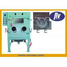 Buy cheap OEM Shot Peening Machine , Hardware / Plasting Parts Wheel Blasting Machine from wholesalers