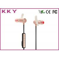 Wholesale Small Portable Bluetooth Earphones Pink With Rechargeable Lithium Polymer Cell from china suppliers