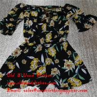 Adults Used Womens Clothing Sunflower Logo Second Hand Ladies Dresses
