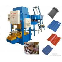 Wholesale Cement Tiles Making Machine , Fully Automatic Color Concrete Roof Tile Making Machine from china suppliers