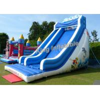 Wholesale 21 Feet High Giant Wave Inflatable Blow Up Water Slide With 3 Years Gurantee from china suppliers