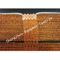 Wholesale Knitting Road Safety Barrier Mesh / Fencing Barrier Nets Blue Red Orange Multi Color from china suppliers
