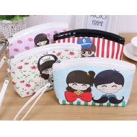 Wholesale printed PU cosmetic bag from china suppliers