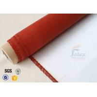 Wholesale 1000GSM Silicone Coated Fiberglass Fabric For Electrical Insulation Fire Blanket from china suppliers