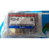 Wholesale High quality and best price SMC Solenoid Valve P/N:VX2221-4D1 AC220V from china suppliers