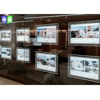 Wholesale Ultra Slim LED Light Box Acrylic LED Window Displays For Estate Agents from china suppliers
