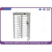 Wholesale High Security Entrance Controlled Access Gates Full Height Single Channel Turnstile from china suppliers