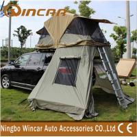 Wholesale 4x4 Waterproof Car roof top campers , 260G Ripstop Canvas Auto Roof Tent from china suppliers