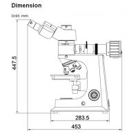 Quality ISO CE certificate Metallurgical microscope moving range 76×52mm for sale