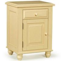 Wholesale Single Door Nightstand  Beautiful and Convenient Graceful Nightstand! from china suppliers