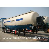Wholesale Three Axle 40 Ton  Bulk Cement Trailer /  Cement Powder Trailer For Cement Transport from china suppliers