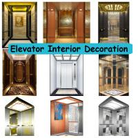 Quality High End Home Elevator Parts , Open Elevator Door Elevator Components For Apartment for sale