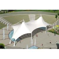Wholesale PVDF Tensile Membrane Structure Gymnasium Stadium Canopy Roofing With Custom Color from china suppliers