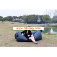 China Wholesale Hangout Instantly Inflatable Bean Bag, Inflatable sleeping bag