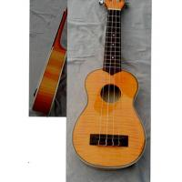 Wholesale Archaized Flamed Maple 4 String Hawaii Guitar Ukulele 21 inch AGUL15 from china suppliers