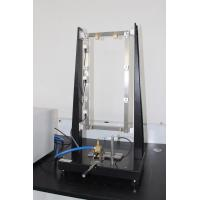 Quality Flame Test Equipment For Automobile Wire , Black / White Flammability Test Apparatus for sale