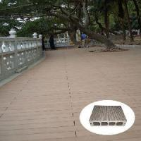 China Wood Plastic Composite Decking (KN03) on sale