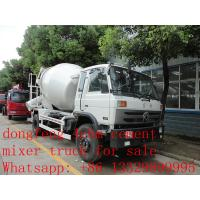 Wholesale cheapest price of dongfeng 4cbm 190hp concrete mixer truck for sale from china suppliers