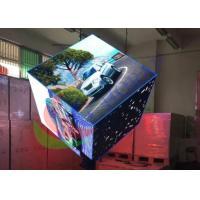 Wholesale Indoor Digital Visual Creative LED Display Custom Cube Shape Pillar Support from china suppliers