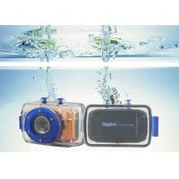 Touch Screen Professional Waterproof Camera Video Recorder Built In Battery 600mAh