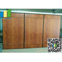 Wholesale Majestic Fabric Finishes Sound Proof Partitions Foldable Wall Sliding Door from china suppliers