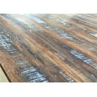 Wholesale Flameproof 12mm Handscraped V Groove Antique Oak Laminate flooring 9971 from china suppliers