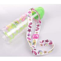 Wholesale Good quality flat polyester sublimation printing wine glass holder lanyard from china suppliers