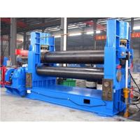 Wholesale 3 Roller Hydraulic Plate Roller Machine / Universal Plate Coiling Machine from china suppliers