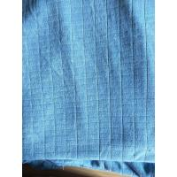 Wholesale Microfiber Factory Blue Weft Big Grid Car Cleaning Cloth 1.5m Width 320gsm Density from china suppliers
