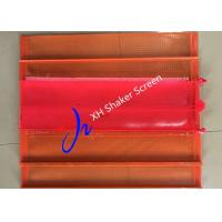 Buy cheap Polyurethane Shale Shaker Screen PU Vibrating Screen For Mining Equipment Blue / Orange Color from wholesalers