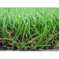 Wholesale 35MM Height Artificial Grass Carpet With W Shape Yarn For Garden Decoration from china suppliers