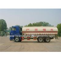Wholesale T5G oil tank truck 6x4 26000 liters aluminum top design customized from china suppliers