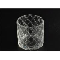 Wholesale Modern Soda Lime Glass Tea Light Candle Holders Small Heat Proof from china suppliers