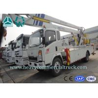 Wholesale Light Duty Aerial Ladder Truck Mounted Boom Lift Aerial Work Platform from china suppliers