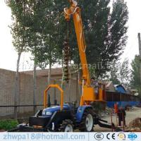 Wholesale Manufacture Solar Pit Drilling Machine Pole Erection from china suppliers