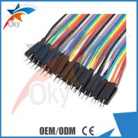 Wholesale 20cm Solderless Arduino Breadboard Jumper Wires Male To Female , 40pcs 1P-1P Pin from china suppliers