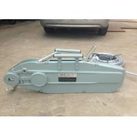 Wholesale Hand Operated 0.8 - 5.4T Wire Rope Hand Winch Hoist Lever 20 meter from china suppliers