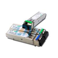 Wholesale BiDi SFP Fiber Optic Transceiver Package With LC / SC Connector from china suppliers