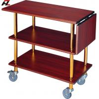 Wholesale Hotel Serving Carts with Folding Panel-Serving Cart from china suppliers