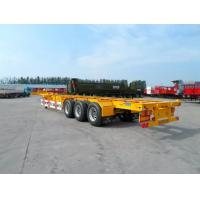 Wholesale 40 Feet Container Carrying Semi Trailer Trucks With FUWA AXLE AND JOST Landing Leg from china suppliers