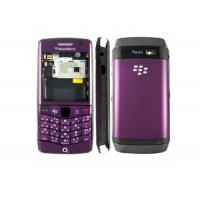 Wholesale OEM Blackberry Pearl 3G 9100 Full Housing Faceplates Cover Purple Parts with Screen Lens from china suppliers