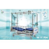 Wholesale Strong Durable Orthopedic Adjustable Bed Stainless Steel Frame With Central Locking Castors from china suppliers