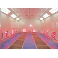 Buy cheap Car Paint Equipment Infrared Spray Booth Centrifugal Fan Heating Separate Control from wholesalers
