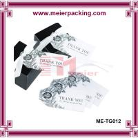 Wholesale Thank You Favor Tag, Paper Gift Tags, Cosmetic Paper Gift Tags ME-TG012 from china suppliers