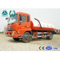 Wholesale Sinotruk Stainless Steel Sewer Suction Truck For Water Pit / Sewer from china suppliers