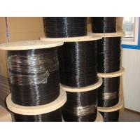 Buy cheap Black PE / PVC Coated Stainless Steel Wire Rope / Cable Fencing Hoisting Mining from wholesalers