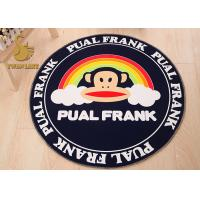 Wholesale Swan Lake Round Dining Room Rugs , Round Shaped Rugs With Non Skid Backing from china suppliers