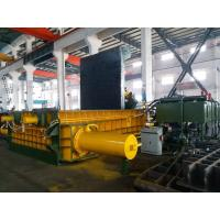Wholesale 315 Tons Baling Force Cuboid Block , Cylinder Scrap Metal Pressing machine from china suppliers