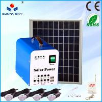 Wholesale small home solar panel kit solar power system portable solar lighting kit from china suppliers